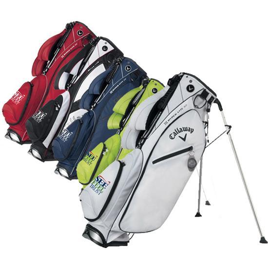 Callaway Golf Hyper-Lite 3.0 See Feel Trust SFT Logo Stand Bag