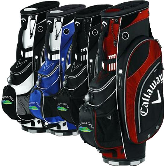 Callaway Golf Org. 7  Utopia Golf Logo Cart Bag
