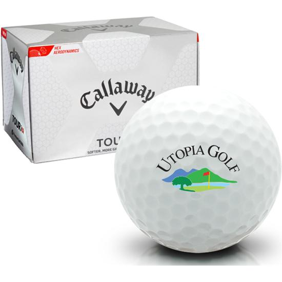 Callaway Golf Tour i(s) Utopia Golf Logo Golf Balls