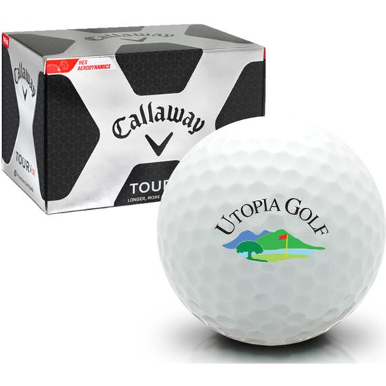 Callaway Golf Tour i(z) Utopia Golf Logo Golf Balls