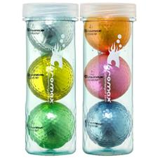 Chromax Metallic I Mixed Colors Golf Balls
