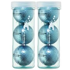 Chromax Metallic I Metallic Blue Golf Balls