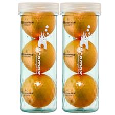 Chromax Metallic Orange Metallic I Golf Balls