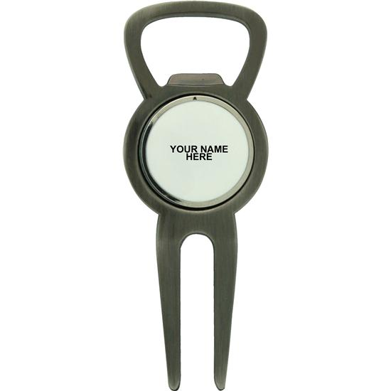classic bottle opener divot tool with ball marker. Black Bedroom Furniture Sets. Home Design Ideas