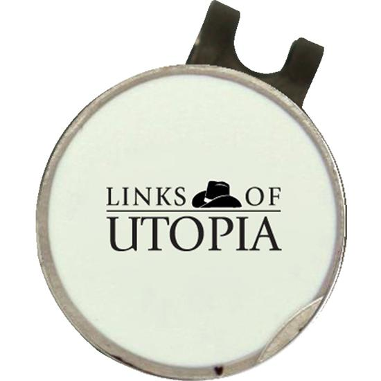 Classic Links of Utopia Dimpled Hat Clip