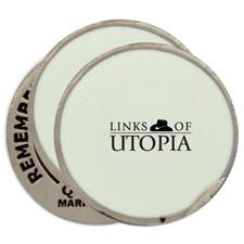 Classic Links of Utopia Logo Ball Markers