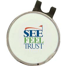 Classic See Feel Trust SFT Dimpled Hat Clip