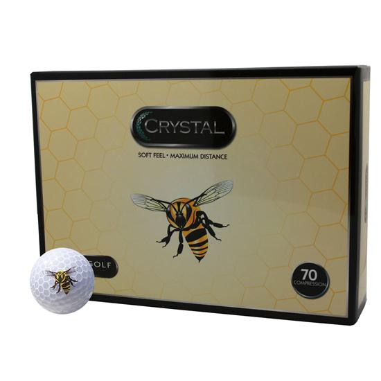 FL Golf Crystal Golf Balls - Bee Logo
