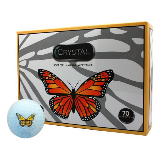 FL Golf Crystal Golf Balls - Butterfly Logo