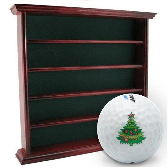Golf Gifts & Gallery 25 Ball Display Cabinet