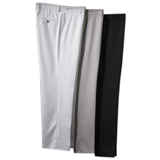 Greg Norman Men's Flat Front Microfiber Pants
