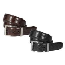 Greg Norman Signature Dress Croco Belt