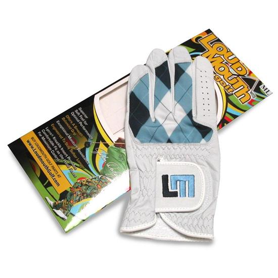 LoudMouth Golf Argyle Golf Glove