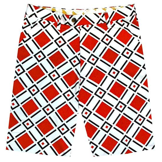 LoudMouth Golf Men's Danger Shorts
