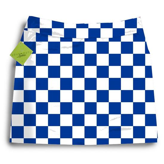 LoudMouth Golf Derby Chex Skort for Women