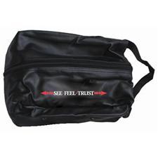 OnCourse Linear See Feel Trust Logo Shoe Bag
