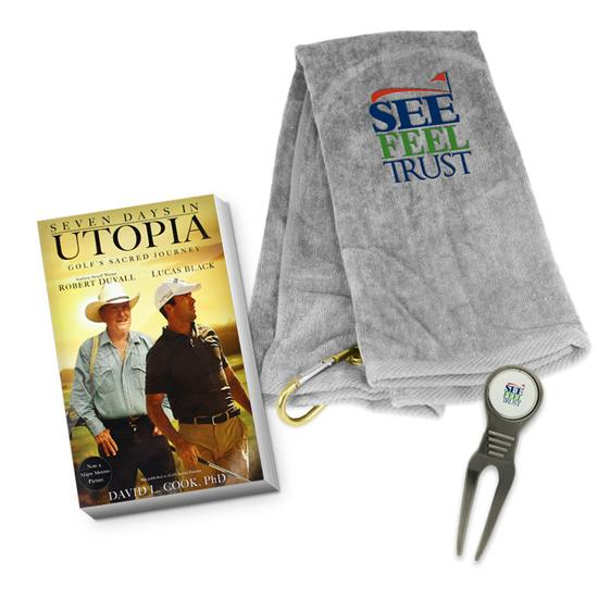 See Feel Trust Logo Golf Towel Bundle Pack