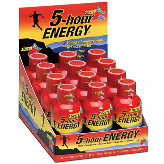 5-Hour Energy Berry Flavor - 12 Bottle Pack