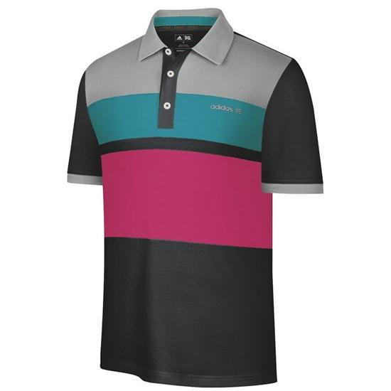 Adidas Men's FP Blocked Placed Print Polo