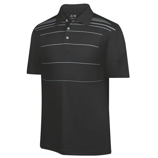 Adidas Men's Formotion Stripe CoolMax Energy Polo