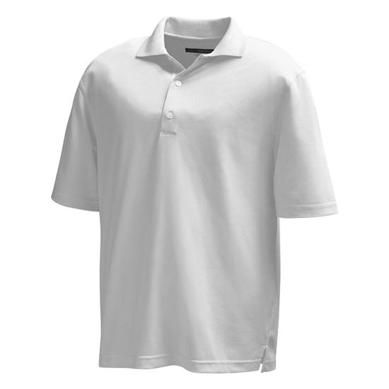 Greg Norman Men's Core Performance Micro Pique Logo Polo