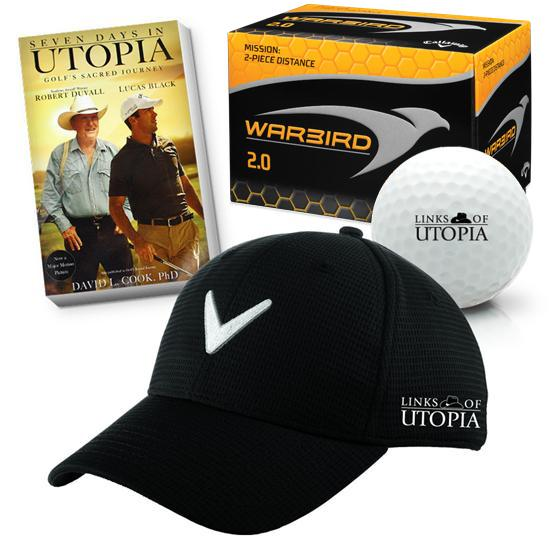 Links Of Utopia Men's Logo Hat Bundle Pack