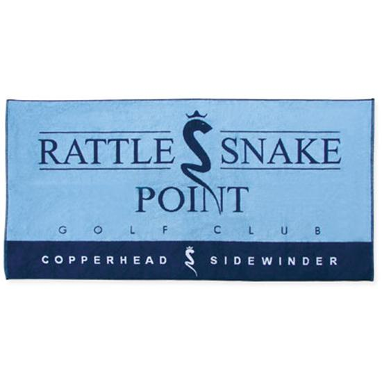 Logo Golf Woven Cotton Towel- Beach Towel