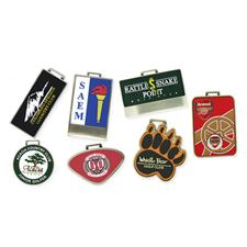 Logo Golf Custom Logo MetaFlex Bag Tag