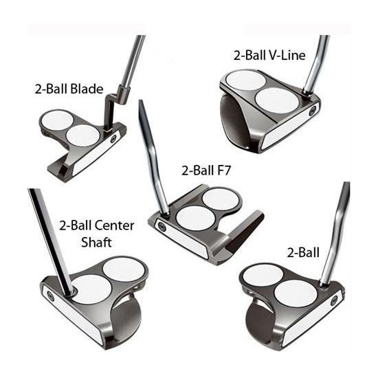 Odyssey Golf White Ice 2-Ball Putter Series
