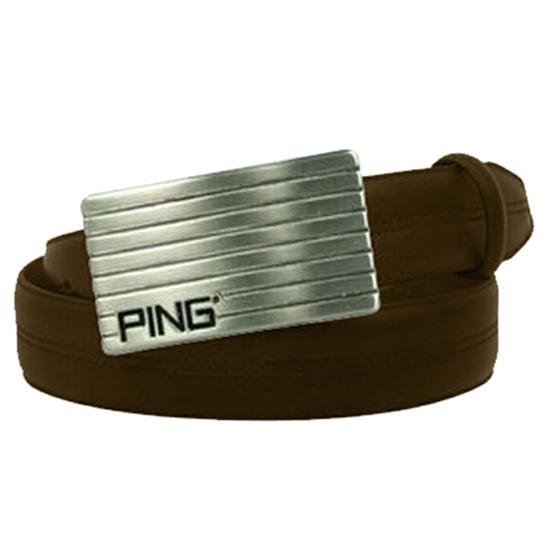 PING Nappa Leather Belt with PING Buckle