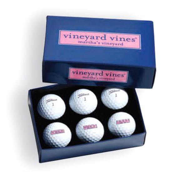 Pinnacle Half Dozen Golf Balls with Foam