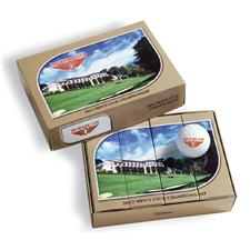 Pinnacle Custom Logo PackEdge Custom Leaf Series Dozen Golf Balls