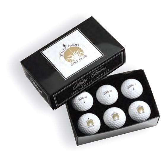 Pinnacle Custom Logo Tournament Half Dozen Golf Balls