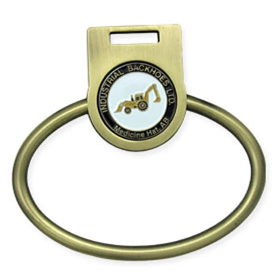 Logo Golf Towel Ring