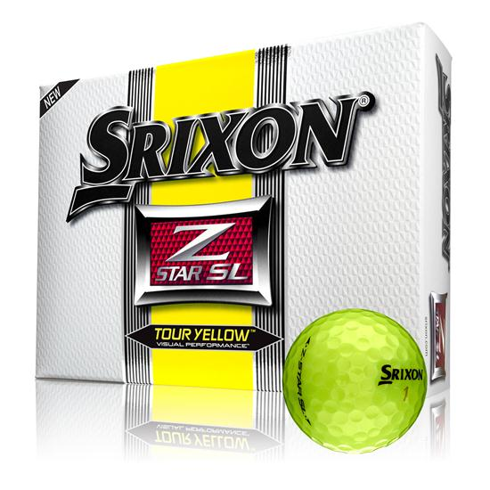 Srixon Z Star SL Tour Yellow Golf Balls