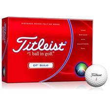 Titleist DT SoLo Logo Overrun Golf Balls