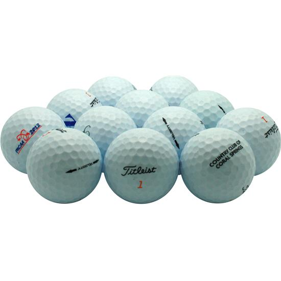 Titleist Velocity Golf Ball Logo Overruns - 2012 Model
