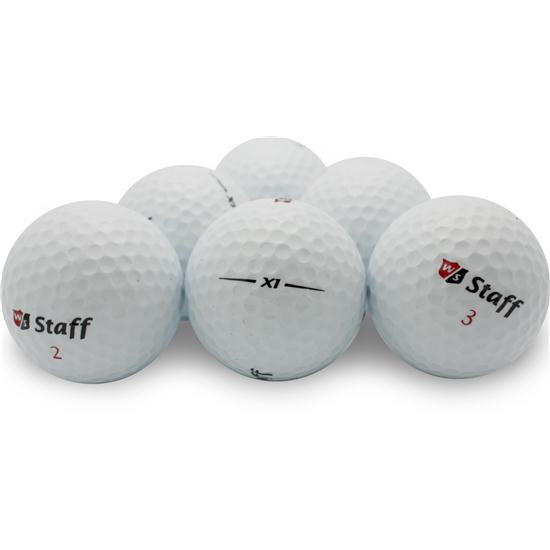 Wilson Staff X1 Photo Golf Balls - Half Dozen