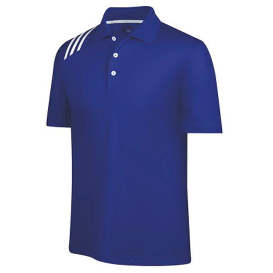 Adidas Men's ClimaCool Pique 3-Stripes Solid Polo