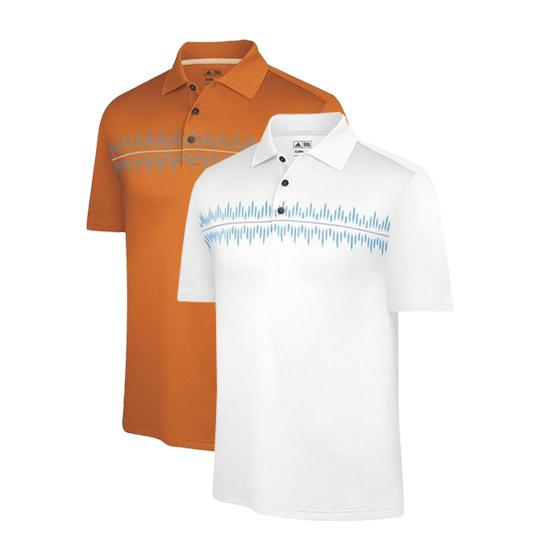 Adidas Men's ClimaCool Pulse Print Polo