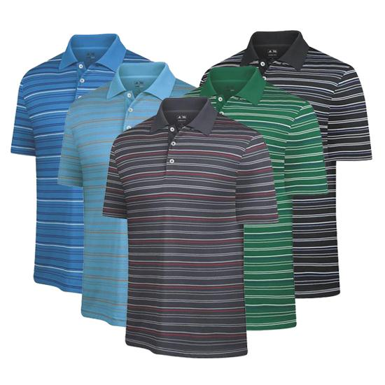 Adidas Men's ClimaCool Soft Merchandising Stripe Polo