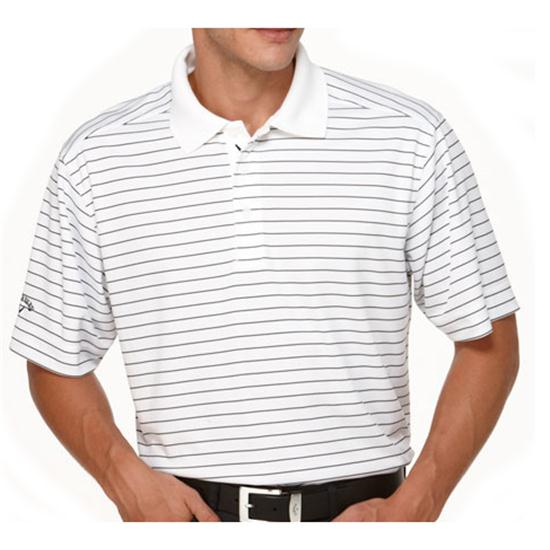 Callaway Golf Men's Chev Stripe Polo Golf Shirt