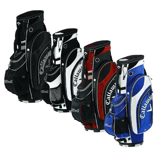Callaway Golf Org. 7 Links of Utopia Logo Cart Bag