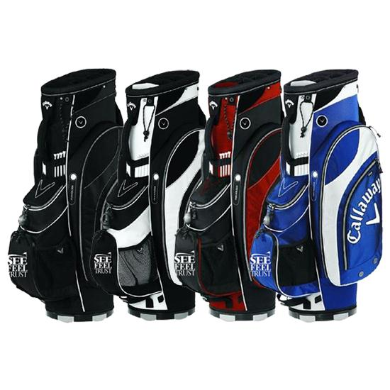 Callaway Golf Org. 7  See Feel Trust SFT Logo Cart Bag