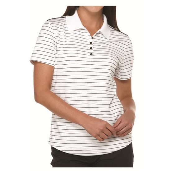 Callaway Golf Women's Chev Stripe Polo