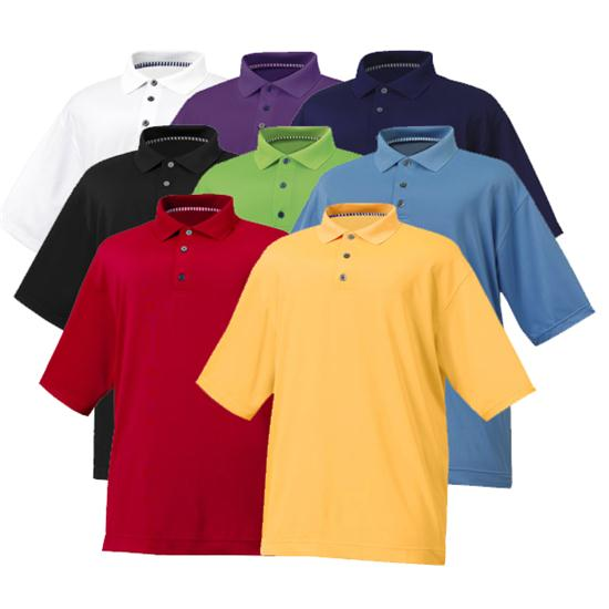 FootJoy Men's ProDry Performance Lisle w/ Knit Collar Shirt