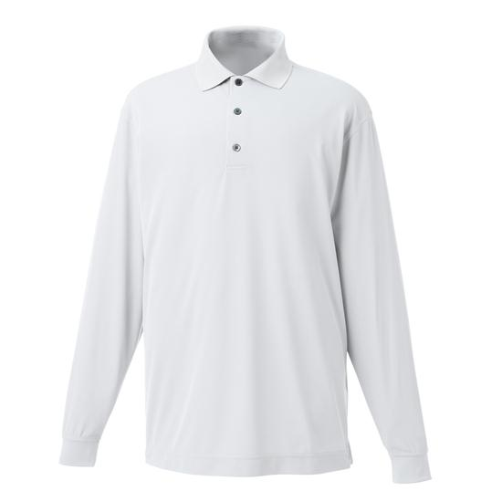 FootJoy Men's ProDry Stretch Pique Long Sleeve Solid Shirt