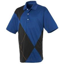 Greg Norman Men's San Ramon Placed Argyle Polo