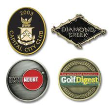 Logo Golf Custom Logo Die Struck Ball Marker