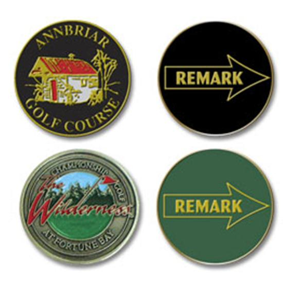 Logo Golf Remark Ball Marker